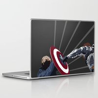 the winter soldier Laptop & iPad Skins featuring Winter Soldier by Kiss My Artse