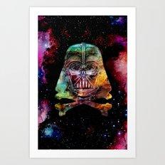 Darth Cosmos Art Print