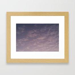 Texas Hill Country Sky - Sunrise 5 Framed Art Print