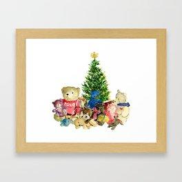 Teddy Bears Framed Art Print