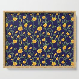 California Gold Rush (Poppies) Serving Tray