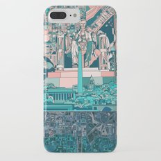 washington dc city skyline Slim Case iPhone 7 Plus