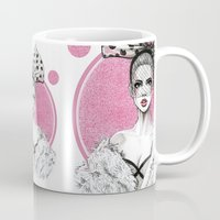 fancy Mugs featuring Fancy by Tania Santos