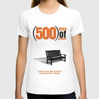 500 days of summer T-shirts featuring 500 Days Of Summer by FunnyFaceArt