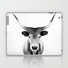 Honey - black and white Laptop & iPad Skin