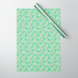 Whimsical Leaves Wrapping Paper