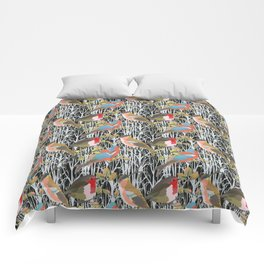 Birds and Trees Comforters