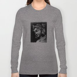 Woman Face Long Sleeve T-shirt