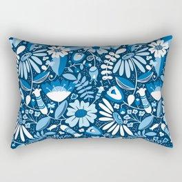 Annabelle - Blues Rectangular Pillow