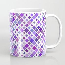 Purple Squared Coffee Mug
