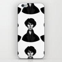 sherlock iPhone & iPod Skins featuring Sherlock by Blanca Limón