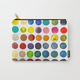 create peace with each step.  Carry-All Pouch