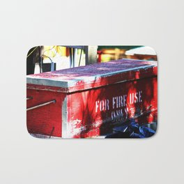 For Fire Use Only Bath Mat