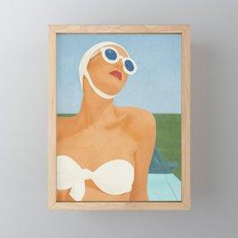 Sunny Framed Mini Art Print