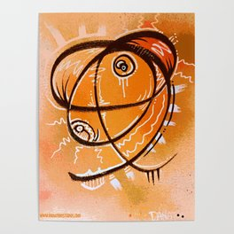The Orange thing that I saw in a dream Poster