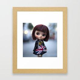 ERREGIRO CUSTOM MIDDIE BLYTHE DOLL Framed Art Print