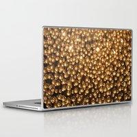 chandelier Laptop & iPad Skins featuring Chandelier  by Emily Joie de Vivre