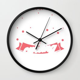Just A Girl Who Lvoes Curling Ice Curling Player Wall Clock