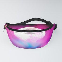 Nebula Moon Fanny Pack
