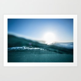 Atlantic Blue Art Print