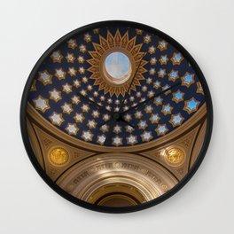 Dundas House Dome Wall Clock