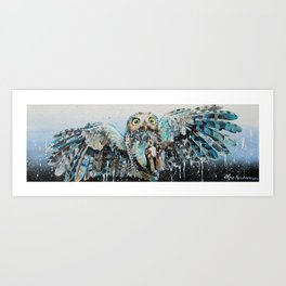 """Night Hunter""  Art Print"