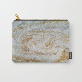 Abstract gold roses Carry-All Pouch
