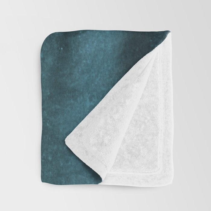 WITHIN THE TIDES - CRASHING WAVES TEAL Throw Blanket