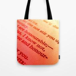 Words number 7 Tote Bag
