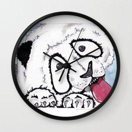 Window Lickers-Panda Wall Clock