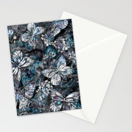 Bohemian Butterflies Stationery Cards