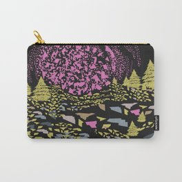 Trippy hills colorful Carry-All Pouch