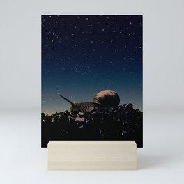 While you were sleeping Mini Art Print