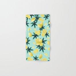Lemon Twist Vibes #1 #tropical #fruit #decor #art #society6 Hand & Bath Towel