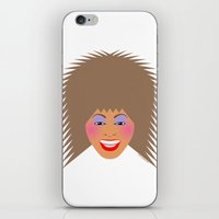tina crespo iPhone & iPod Skins featuring Greatest Tina by tuditees