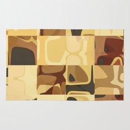 Mid Century Modern Pattern Geometric Art by Michel Keck Rug