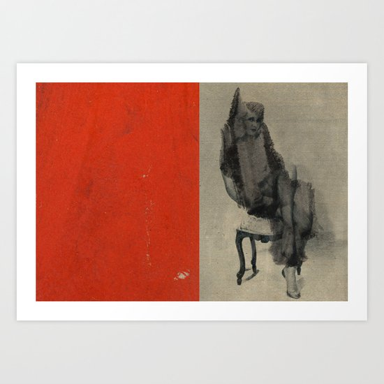 Pose Art Print