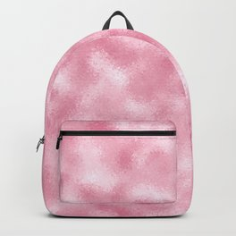 Strawberry & Cream Reflective Abstract Background Backpack