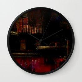 Crazy Heart Wall Clock