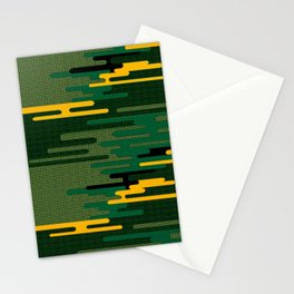 8Bit Camo Stationery Cards