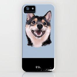 Smiling Shiba Inu iPhone Case