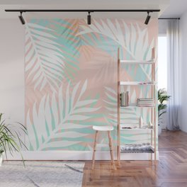 Tropical bliss - palm springs Wall Mural