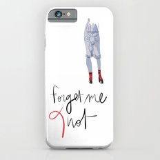 Forget me (K)not Slim Case iPhone 6s