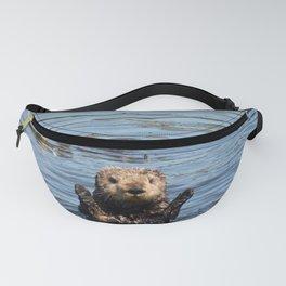 sea otter hello Fanny Pack