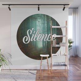 Silence Wall Mural