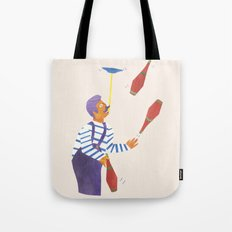 A circus performer named Brian. Tote Bag