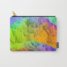 Holopunk Mountains Carry-All Pouch