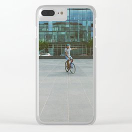 Radical inflection Clear iPhone Case