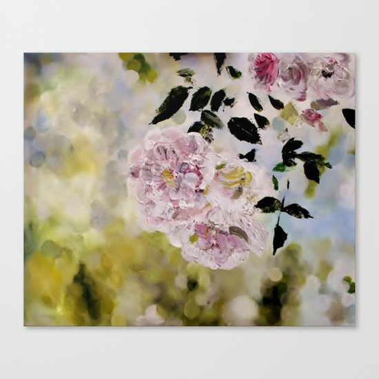 Rosy days Canvas Print