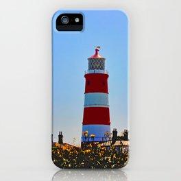 Happisburgh Lighthouse portrait iPhone Case